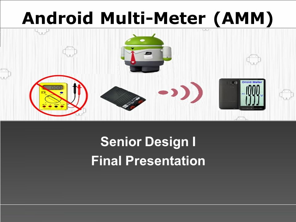 Android multi meter amm ppt video online download android multi meter amm toneelgroepblik Image collections