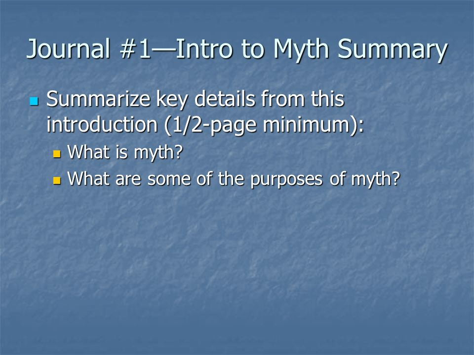 intro to greek mythology ppt video online journal 1 intro to myth summary