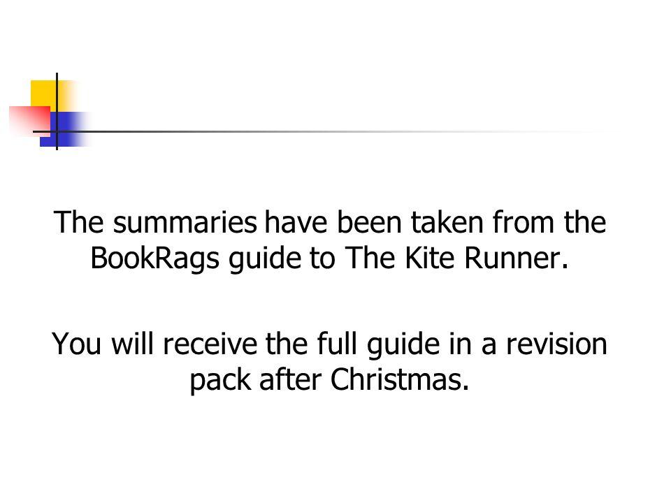 kite runner chapter 9 The kite runner chapter 9 summary brief summary of chapter 9 in the kite  runner book.