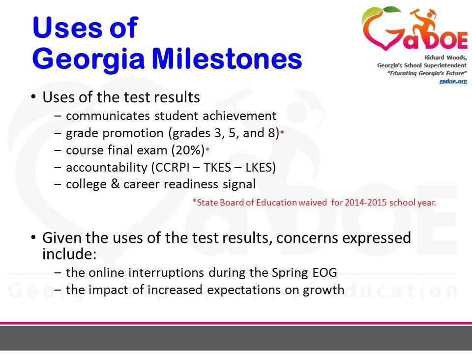 CCRPI & Georgia Milestones - ppt download