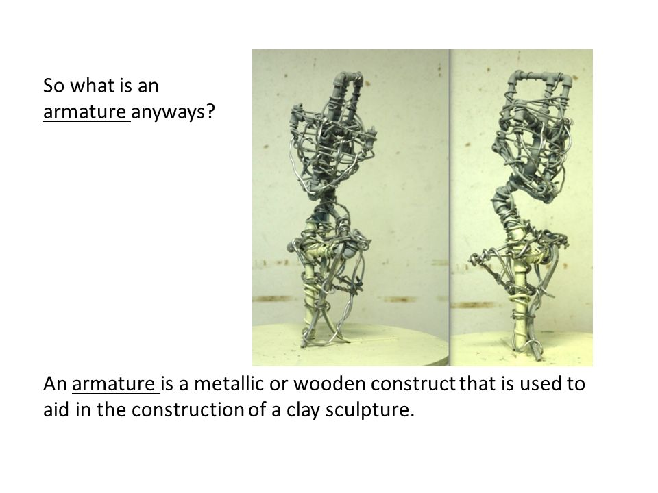 So what is an armature anyways