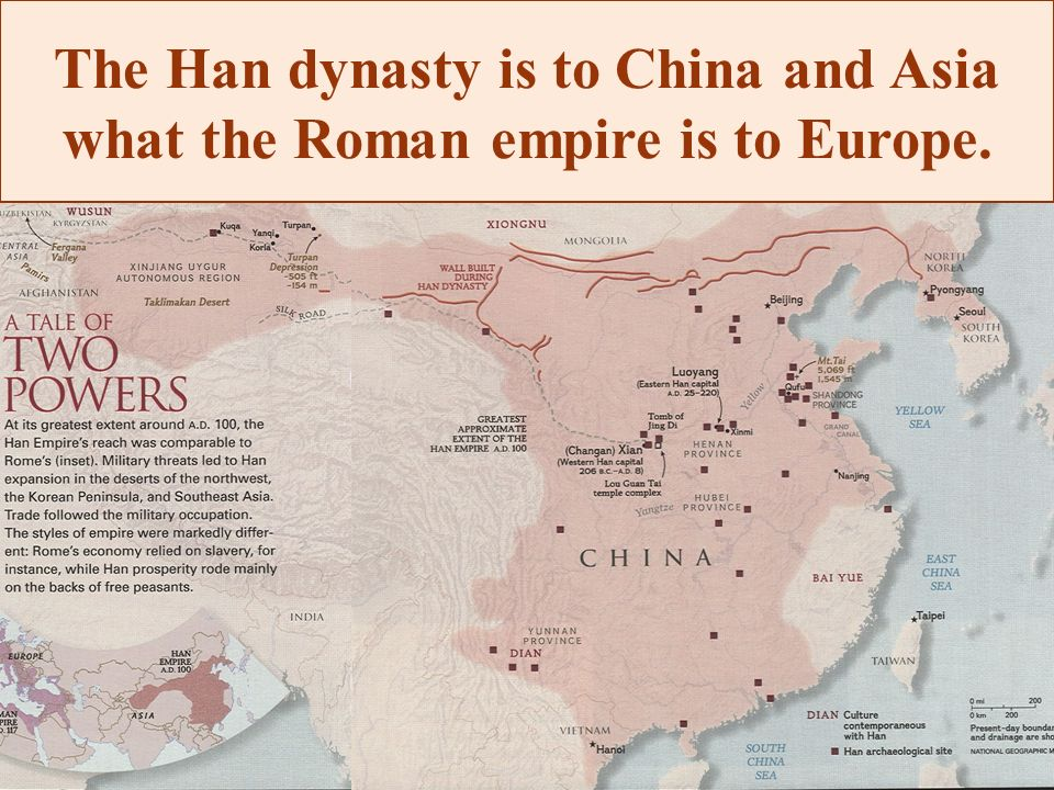 han dynasty and china essay Read this history other essay and over 88,000 other research documents han dynasty many historians say that the two most influential times in history came from the roman empire and the han dynasty.