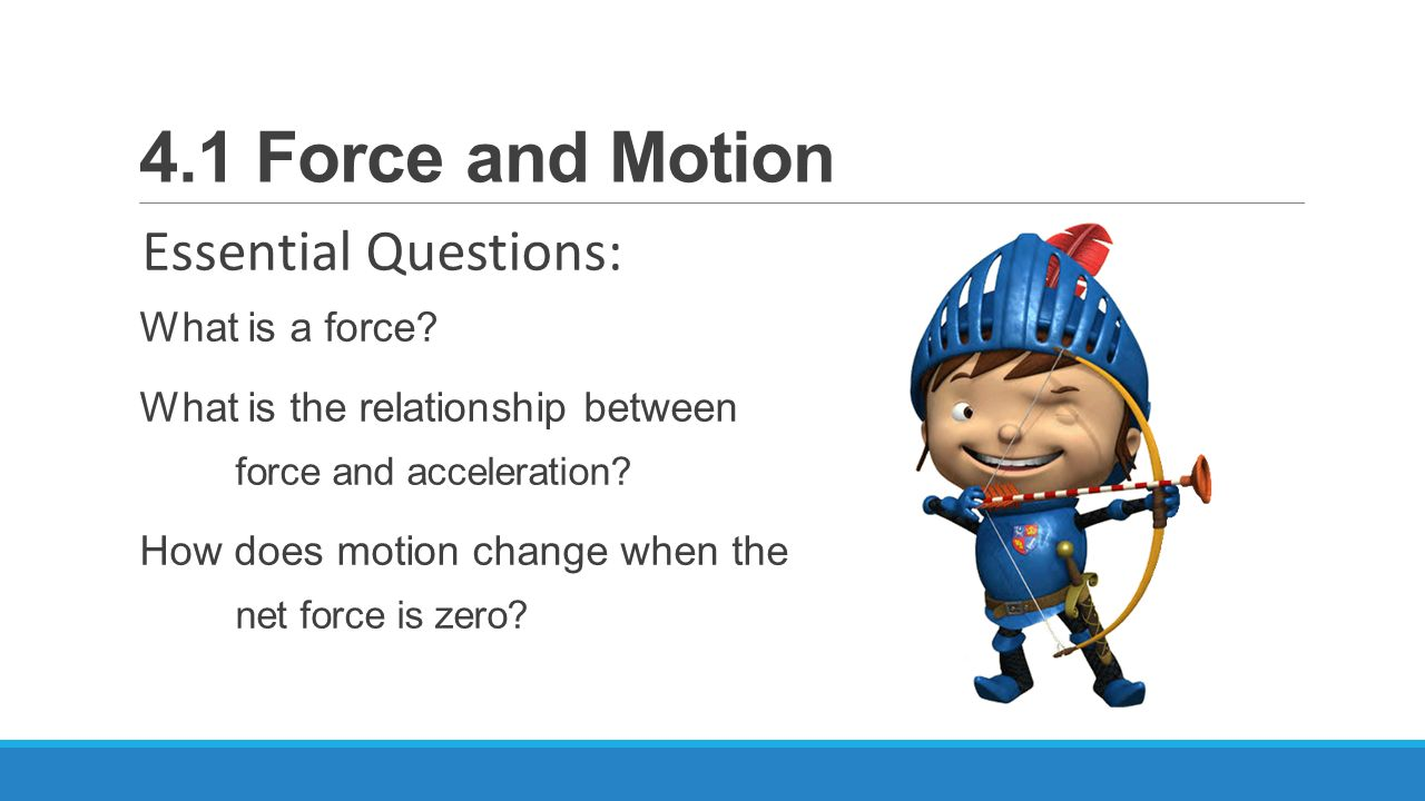 Newton force and motion answer key