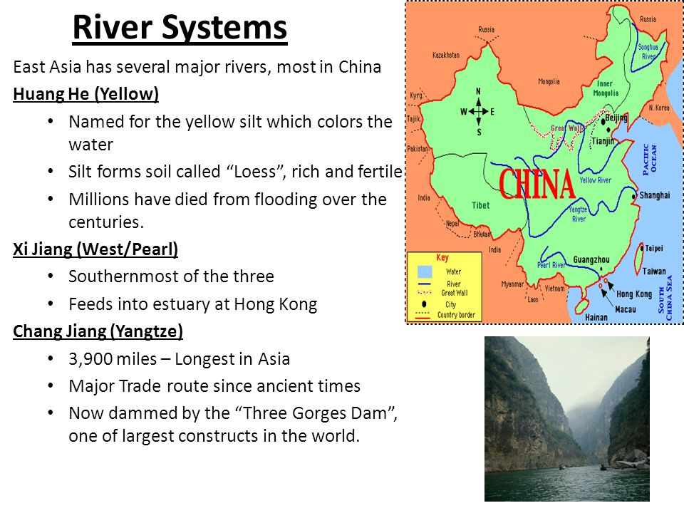 Canada's main trading river system