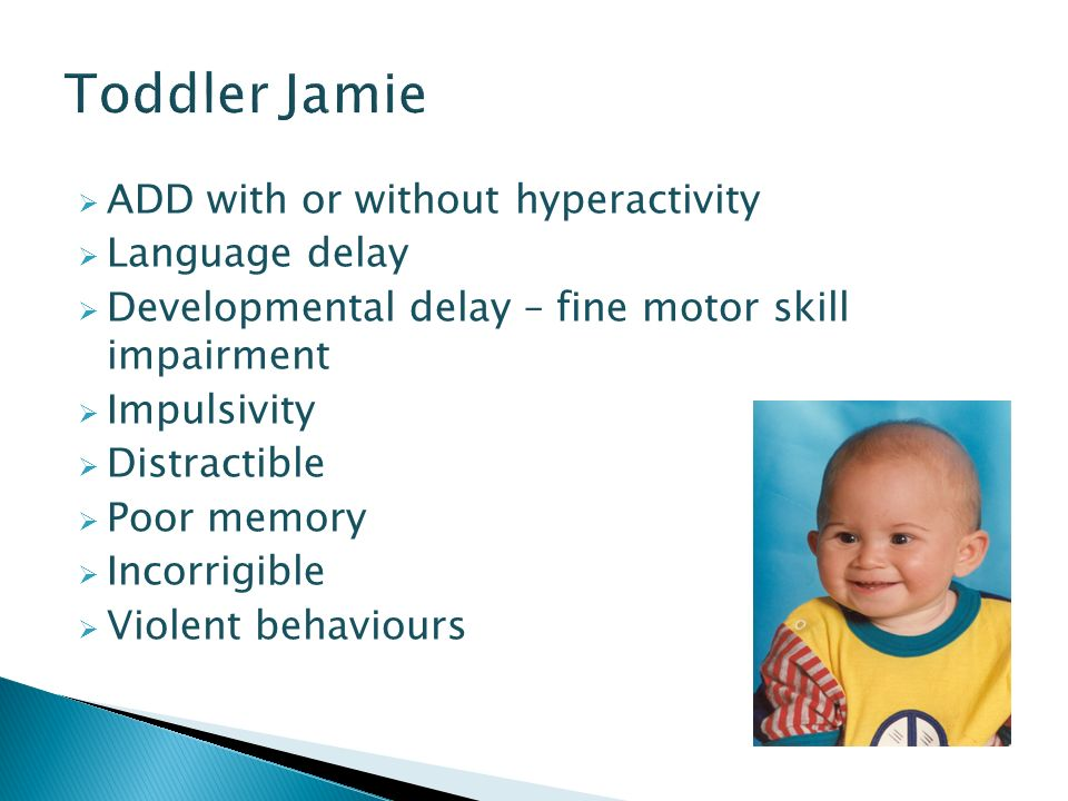 Fetal alcohol syndrome disorders 19th november ppt download for Adhd and fine motor skills
