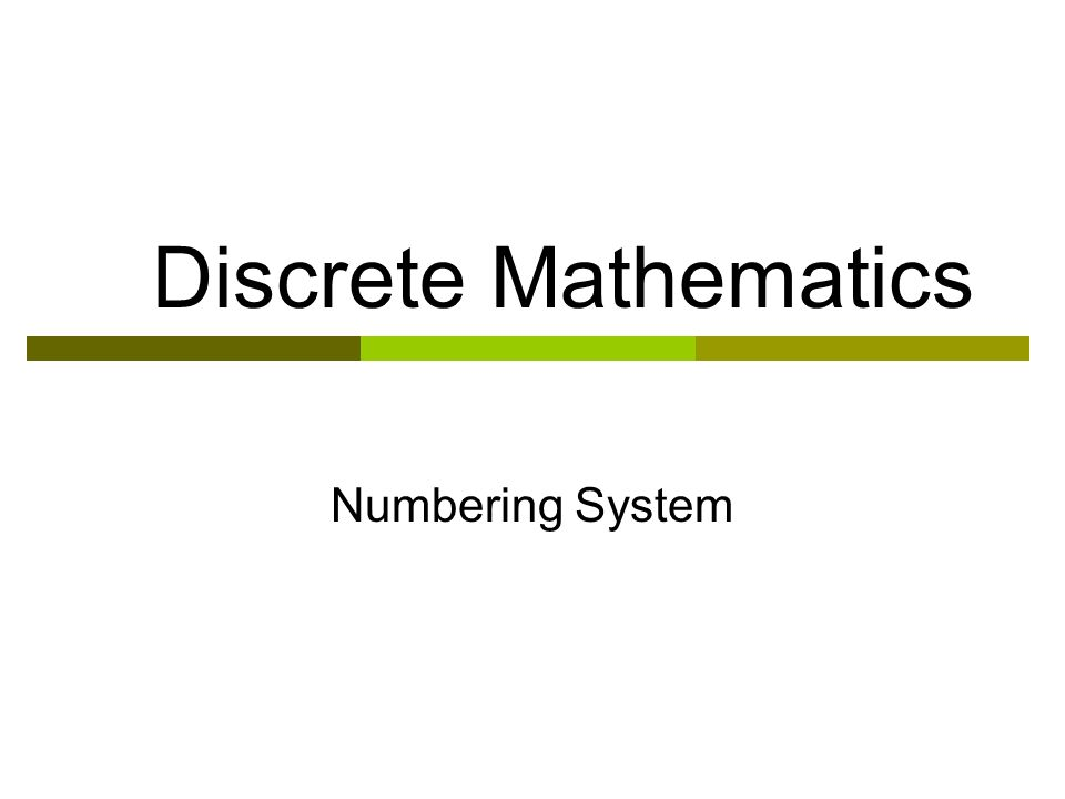 discrete mathematics Discrete mathematics introduction - learn discrete mathematics concepts in simple and easy steps starting from their introduction, sets, relations, functions, propositional logic, predicate logic, rules of inference, operators and postulates, group theory, counting theory, probability, mathematical induction, recurrence relation, graph.