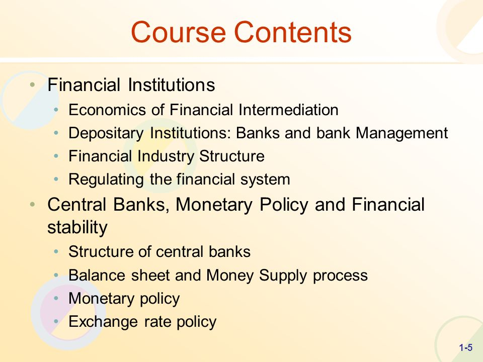 regulation of financial institutions Financial regulation: laws and rules that govern what financial institutions such as banks, brokers and investment companies can do these rules are generally promulgated by government regulators or international groups to protect investors, maintain orderly markets and promote financial stability.