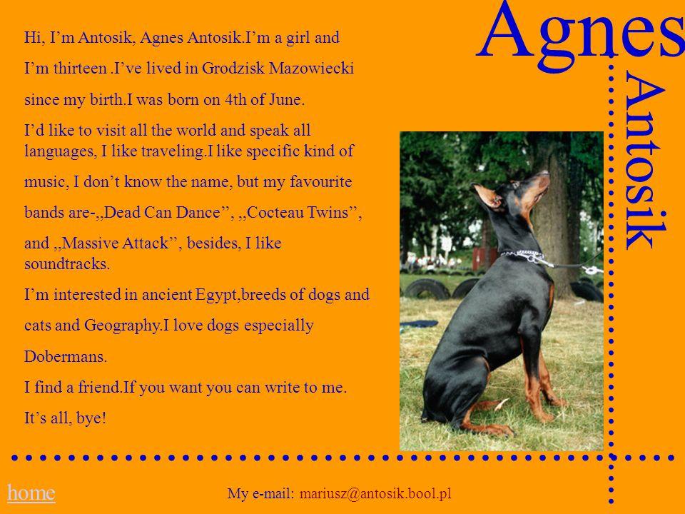 My e-mail: mariusz@antosik.bool.pl