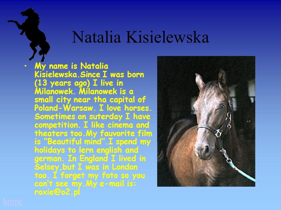 Natalia Kisielewska home
