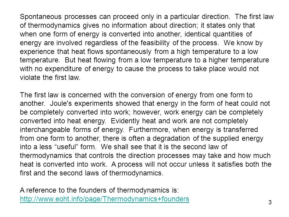 Chapter 6 the second law of thermodynamics study guide in powerpoint 3 spontaneous fandeluxe Images