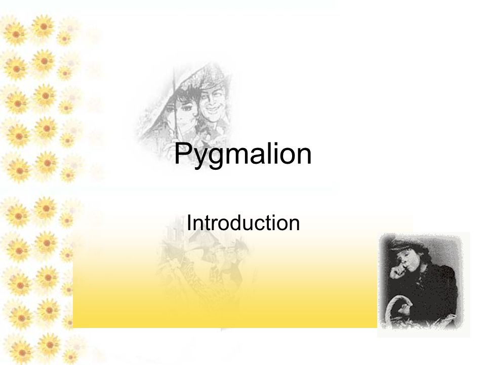 essay type questions on pygmalion Pygmalion by george bernard shaw this portfolio is to be completed as we read the play pygmalion by george bernard shawit consists of questions on the play as well as the myth pygmalion and galatia, translated by edith hamilton.