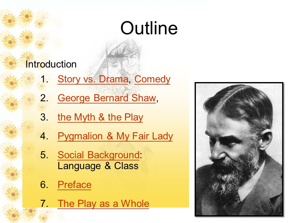 pyg on introduction ppt video online  drama comedy george bernard shaw