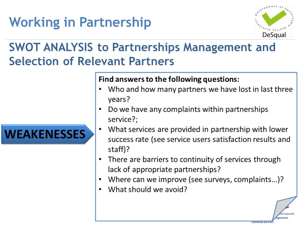 evaluate the barriers to partnership working Evaluation of partnership working with other services  it is not the intention of this report to evaluate partnerships with specific agencies in detail rather, it .