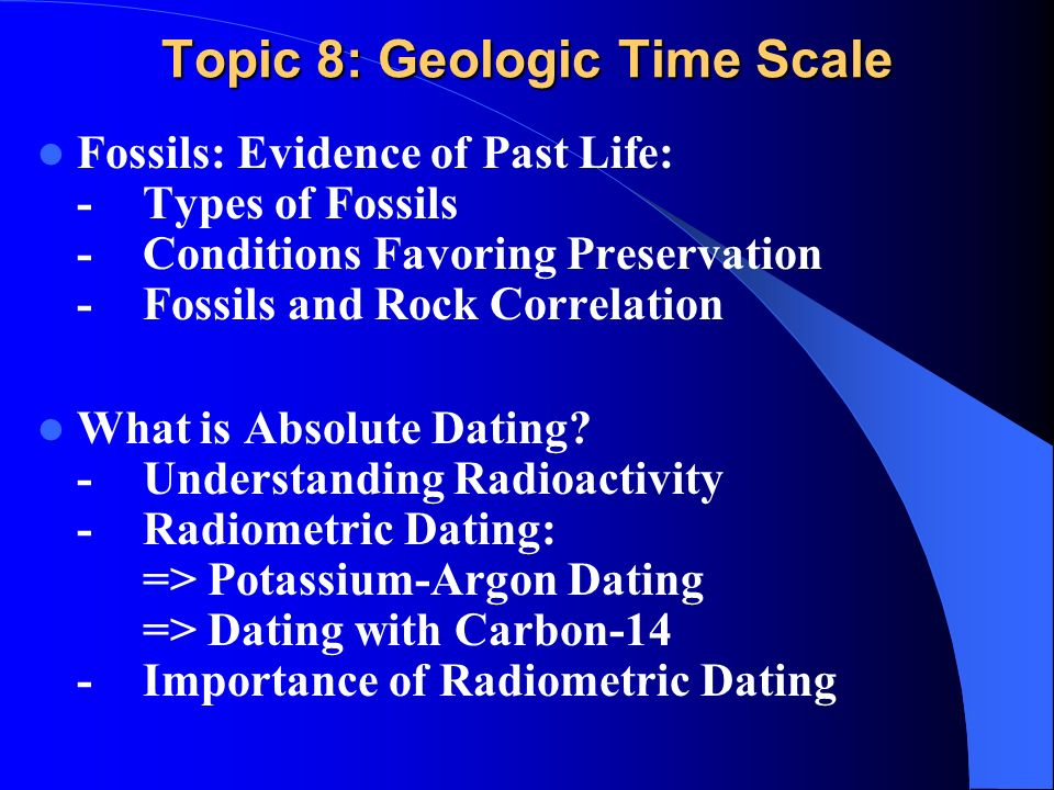 Difficulties in hookup the geologic time scale