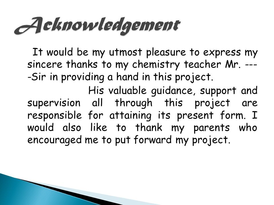 Sample letter to acknowledge the completion of a Project
