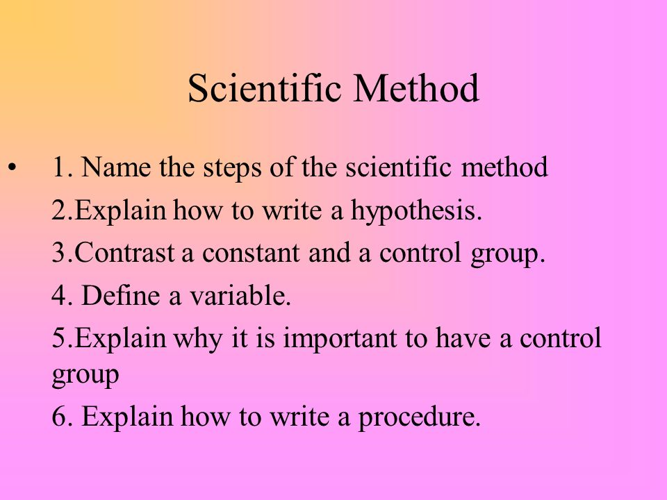 the scientific method identity of six The data protection act requires that the identity of all  it had to be abandoned after six  they often provide the only method possible of studying.