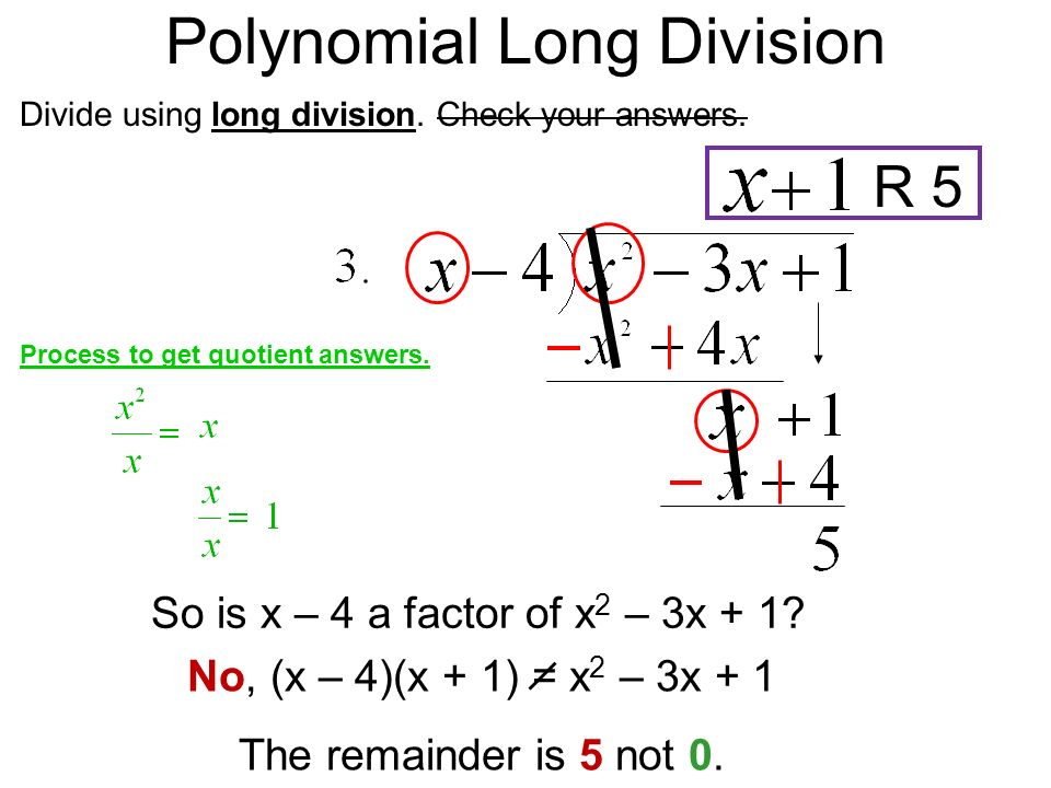 63 dividing polynomials day 1 ppt download polynomial long division ccuart Images