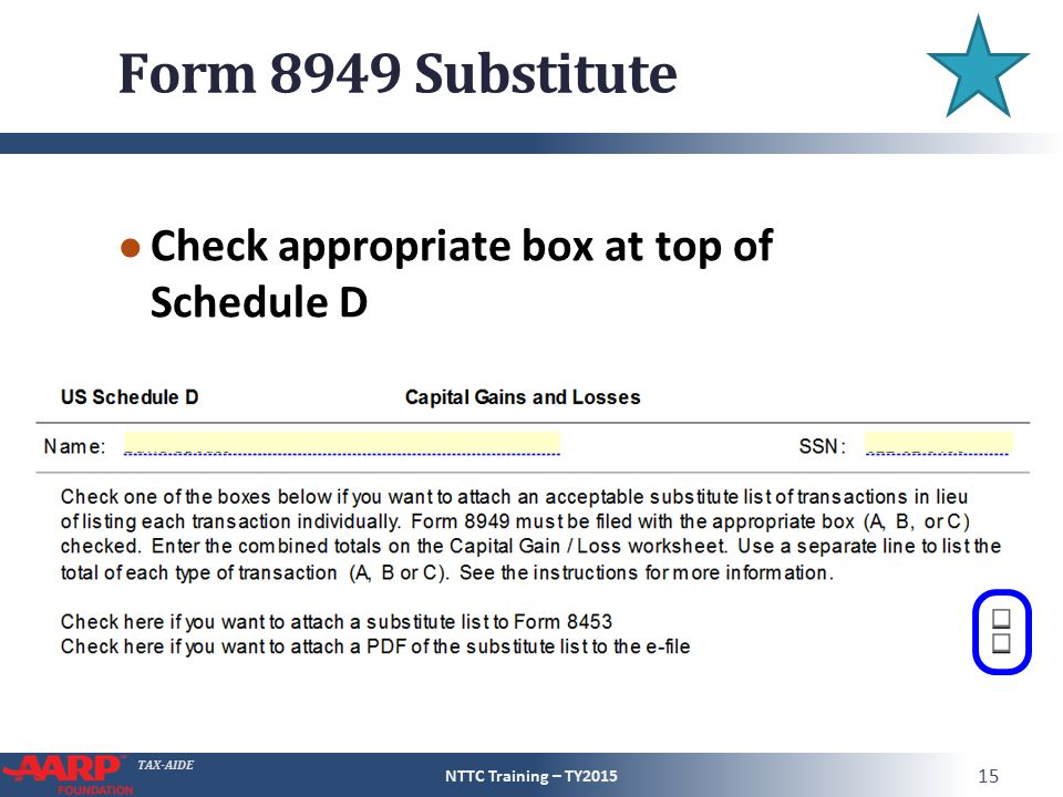 Concluding the interview ppt video online download form 8949 substitute check appropriate box at top of schedule d sciox Images