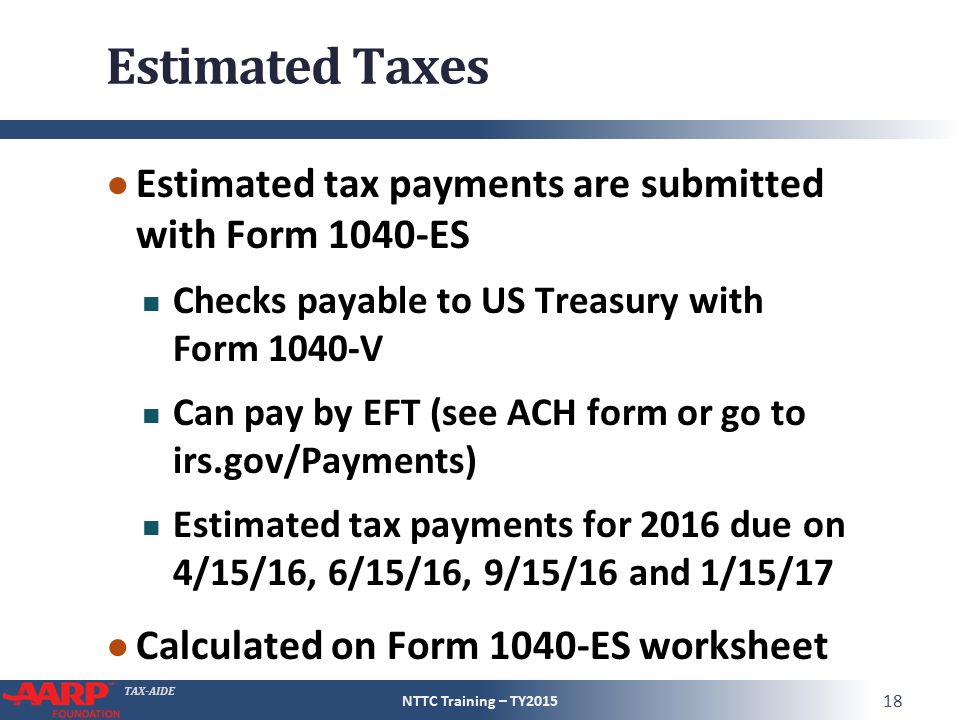 Estimated Tax Form. Publication 505: Tax Withholding And Estimated ...