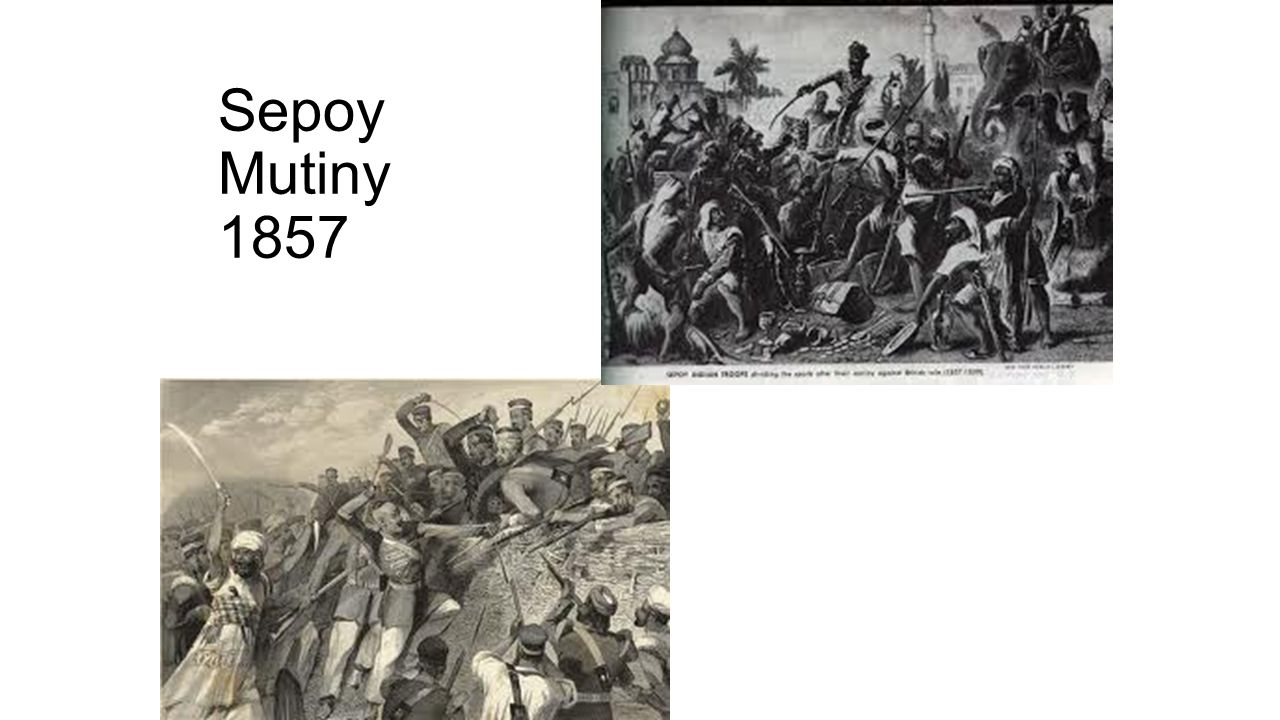 the sepoy mutiny of 1857 Abstract: the revolt of 1857, always gives birth to two pertinent questions - whether it is a nationalist war or a mutiny of sepoys the latter's participation in the revolt is due to the discontent regarding the introduction of enfield rifle and some social and economic reforms introduced by the british government.