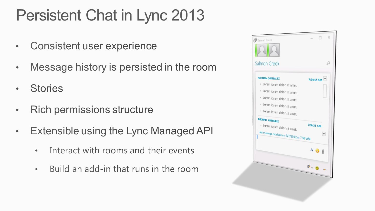 Business Productivity » Exciting enhancements in Lync 2013 for end ...