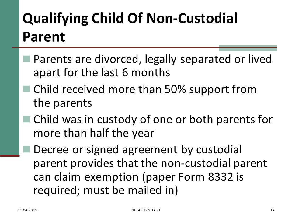 non custodial Current: non custodial parent (ncp) faqs non custodial parent (ncp) faqs general how do i get my child support order modified (increased or.
