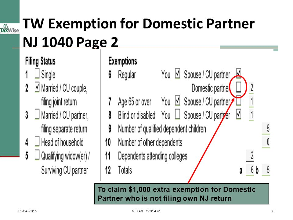 policy same sex domestic partner tax