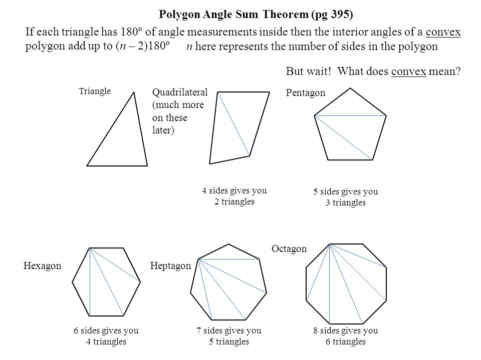 Polygons parallelograms ppt download What do exterior angles of a triangle add up to