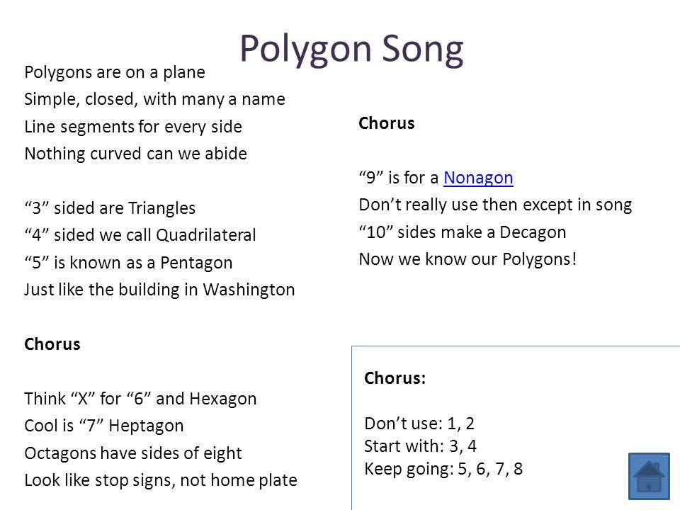 Polygon Song