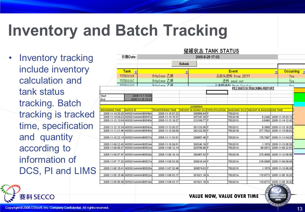 case learn about some sort of batch creation as well as selection system