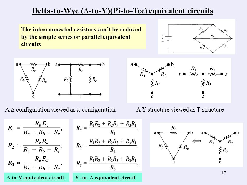 simple resistive circuites