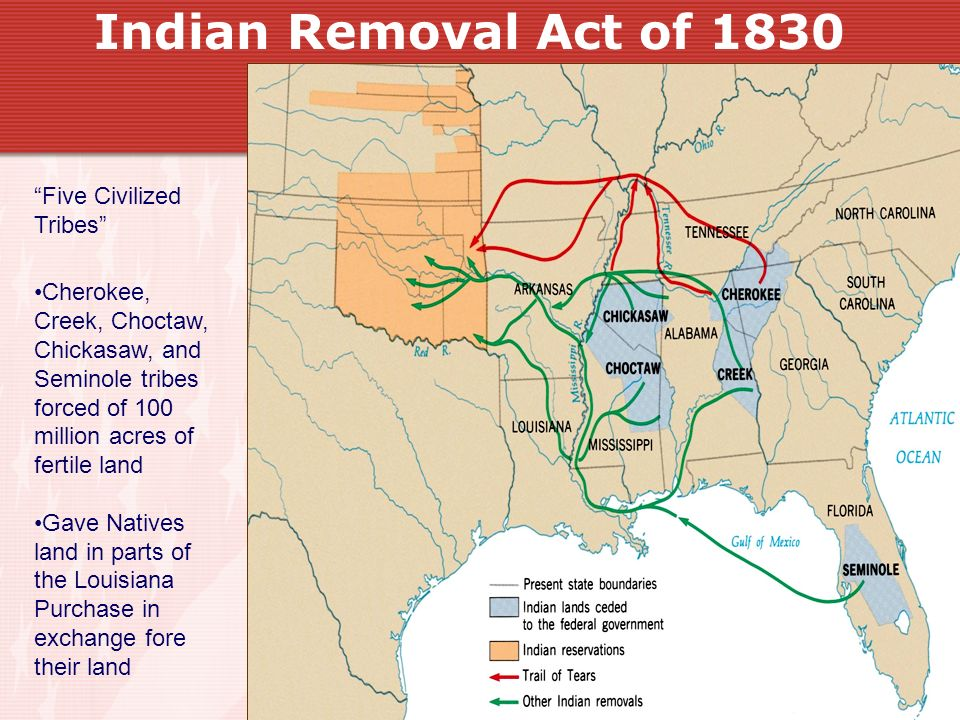 Indian Removal Act Chapter 10 Democracy i...