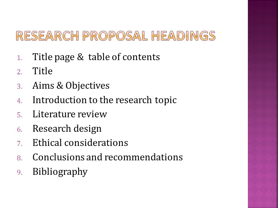 Writing A Research Proposal Ppt Download