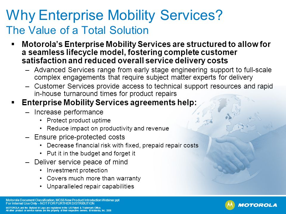 Why Enterprise Mobility Services The Value of a Total Solution
