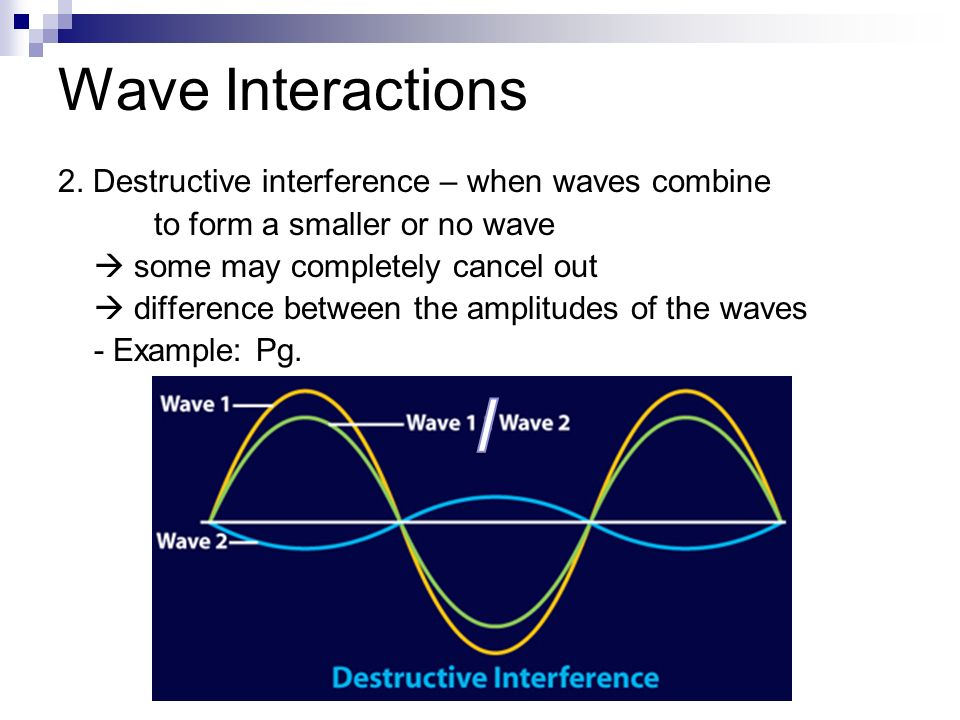 wave interactions and behaviors ppt download
