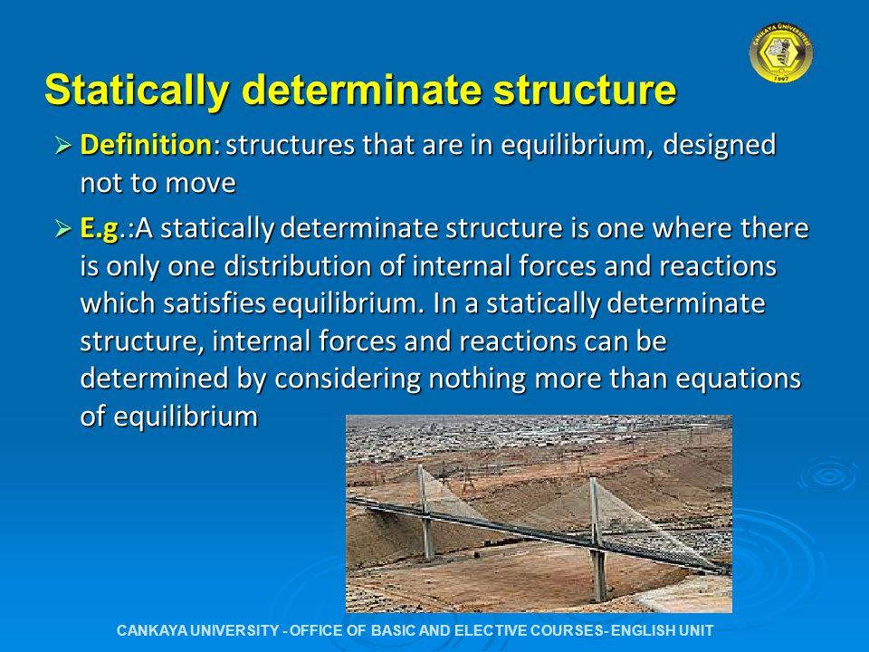 Elegant Statically Determinate Structure