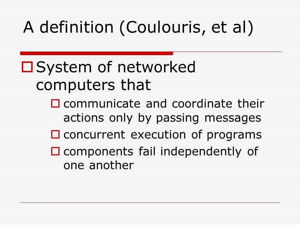 Attractive A Definition (Coulouris, Et Al)