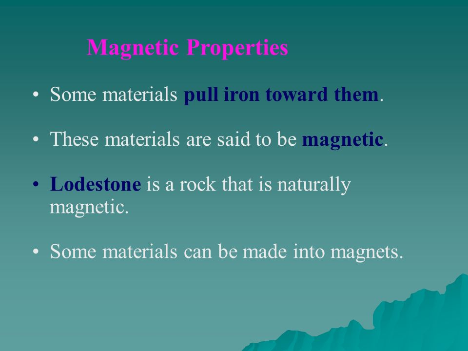 Is Iron Is Magnetic A Chemical Or Physical Property