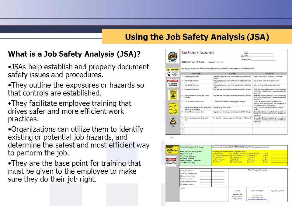 Job Safety Analysis. - ppt video online download