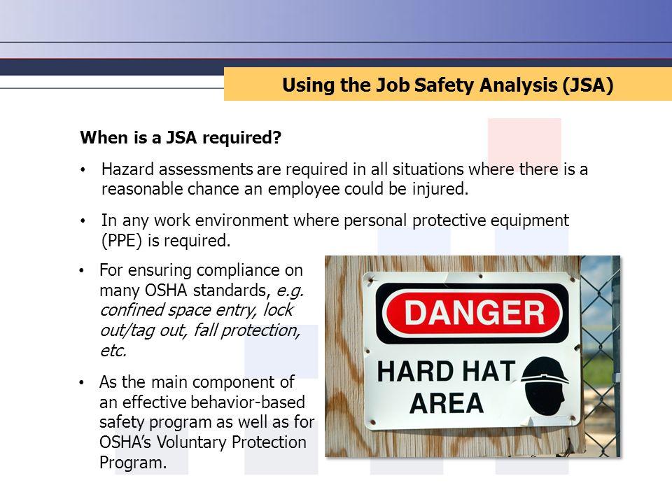 Job Safety Analysis. - ppt download