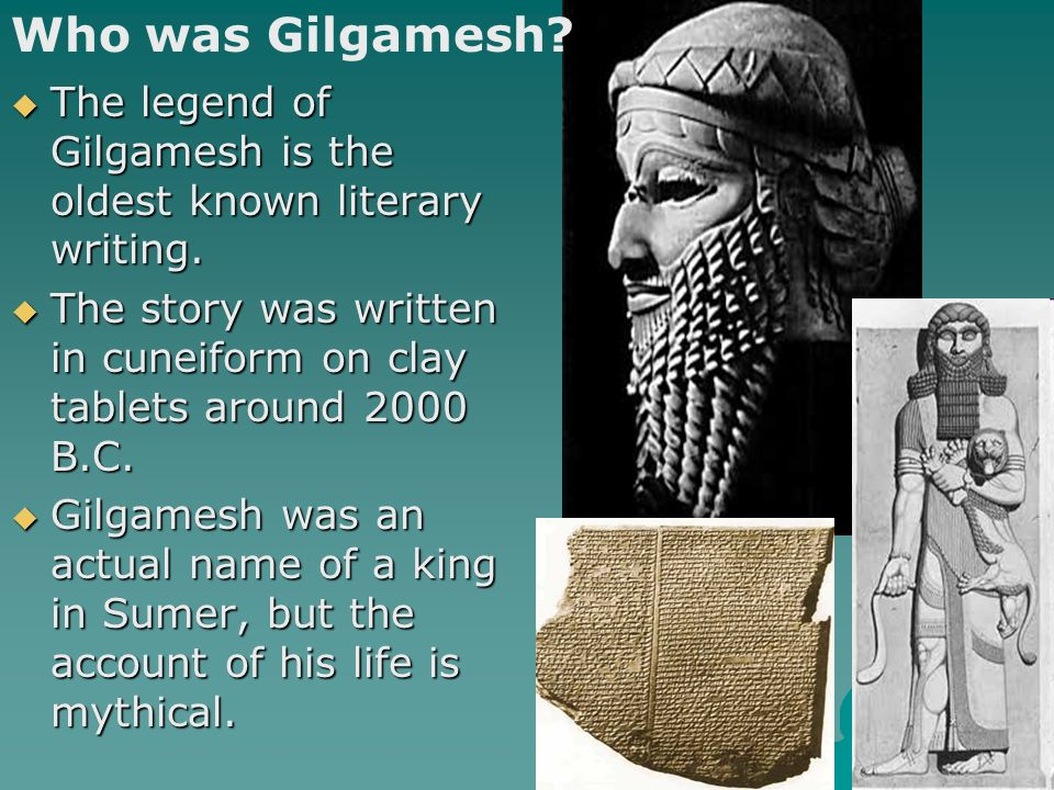 an essay on the character and story of gilgamesh Free essay: gilgamesh and enkidu character building plot gilgamesh and enkidu: character building plot the creation of an intriguing plot must involve at.