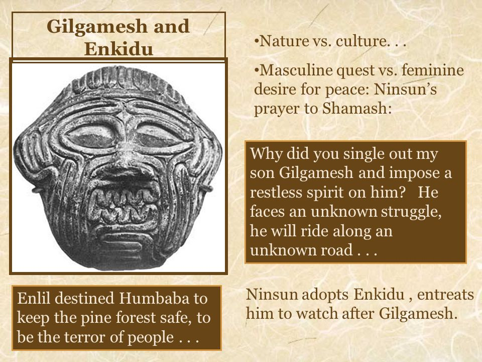 gilgamesh and odysseus Odysseus must travel the known and unknown world before he can return home  to his beloved island kingdom of ithaca what do his adventures and suffering.
