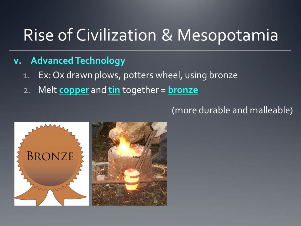 the arise of civilizations in mesopotamia Brief history of mesopotamia mesopotamia,  the next empire to arise in mesopotamia came from a different quarter, the assyrians in the northeast.