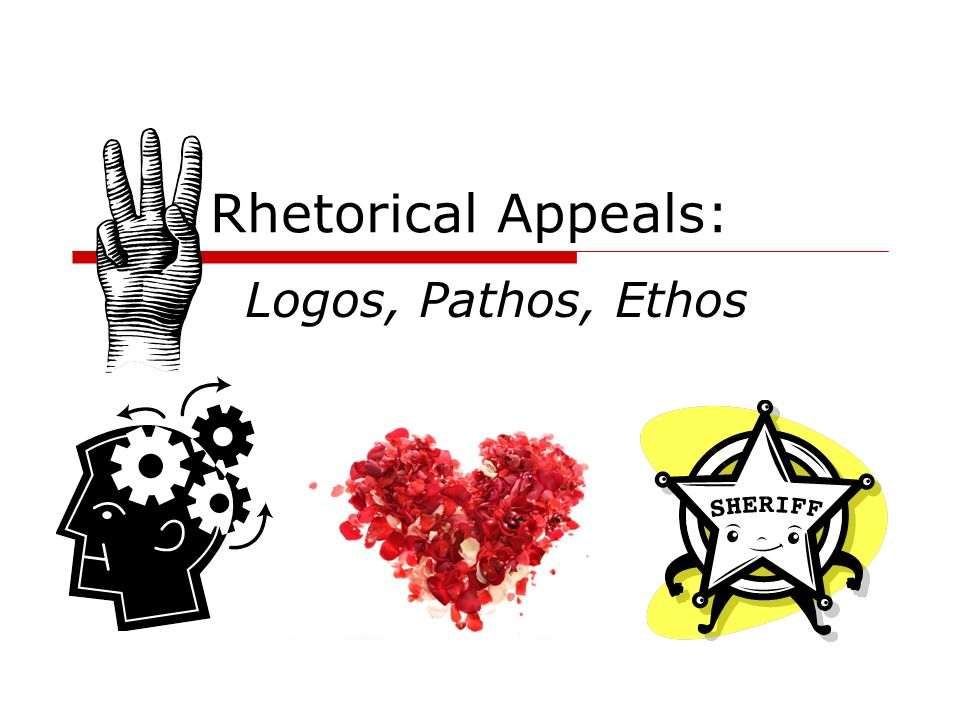 THE RHETORICAL APPEALS (RHETORICAL TRIANGLE)