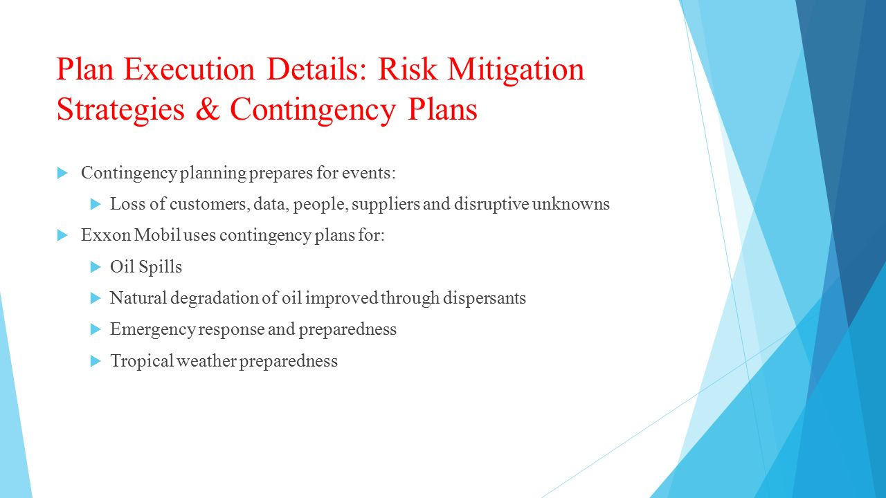 10 Business Risk Reduction Principles
