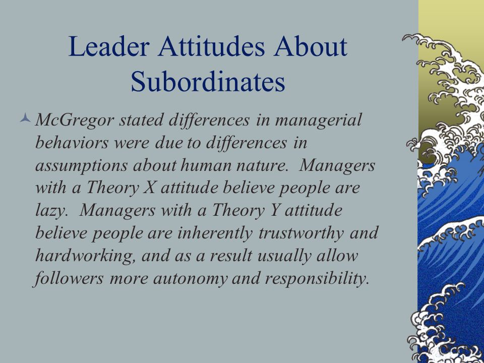"""when should a leader allow subordinates What your leader expects of you larry  shares what he calls """"the ceo compact,"""" detailing the behaviors a leader should look for in subordinates and what they."""