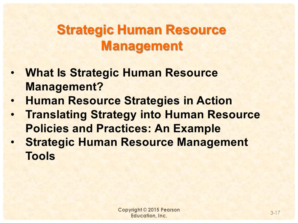 Top Three Recommendations for Implementing an HR Strategy in an Organization