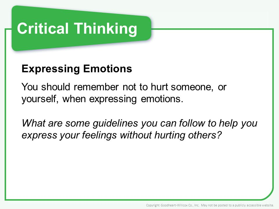 Are You An Emotional or Logical Thinker?