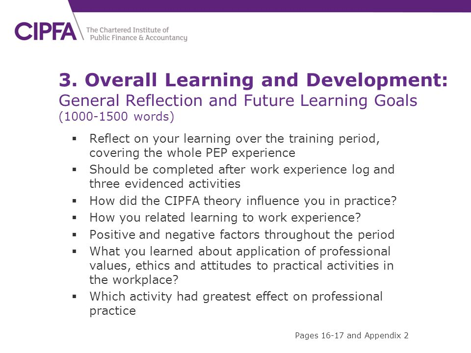 goals of professional learning experience From the practicum experience and how you will accomplish your goals be specific so that your preceptor can evaluate you on how well you met your learning objectives.