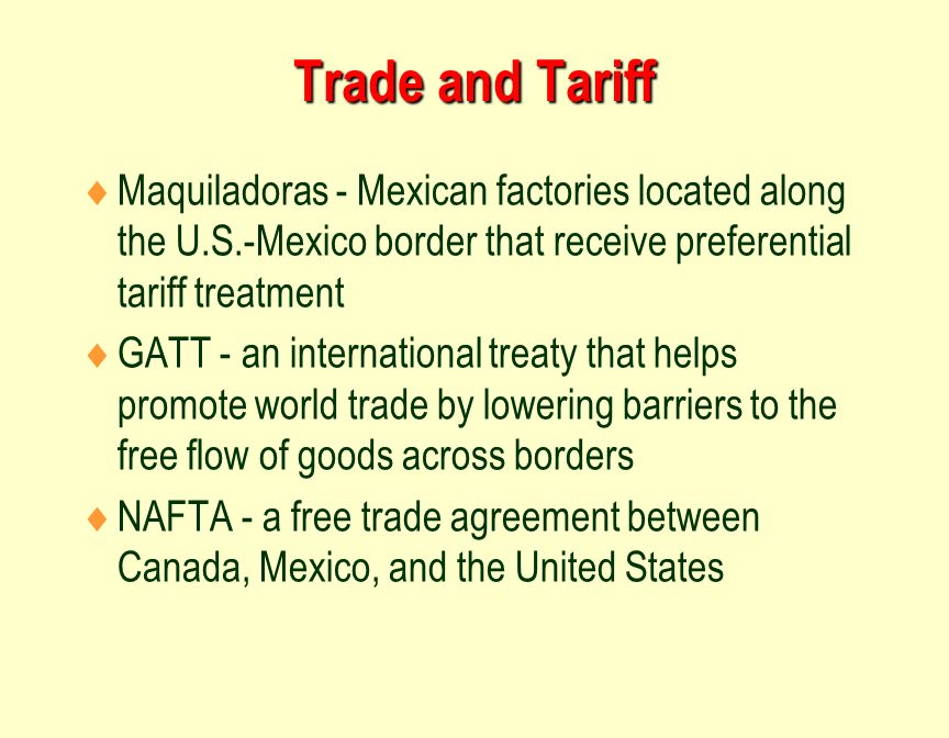 a discussion on the free trade agreement between canada and the united states 99 rows how trade and investment agreements develop in stages  united states.